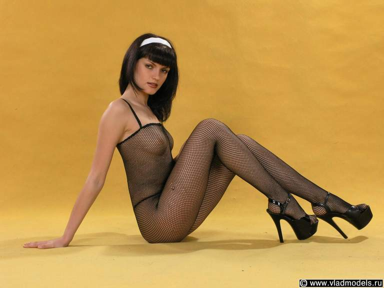 Nylons and pantyhose models